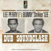 Lee Perry V's Bunny 'Striker' Lee - Dub Soundclash (Jamaican Recordings) LP